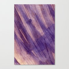 wet layers on wet Canvas Print