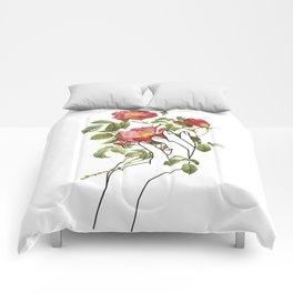 Flower in the Hand II Comforters