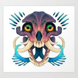 Record Eyes Art Print