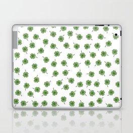 Light Green Clover Laptop & iPad Skin