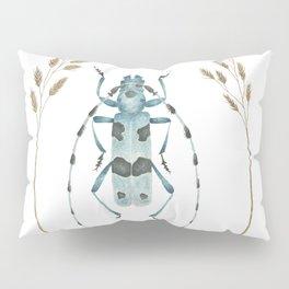 Alpine Longhorn Beetle in the Fields Pillow Sham