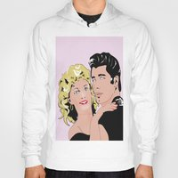 grease Hoodies featuring grease by POP DESIGN