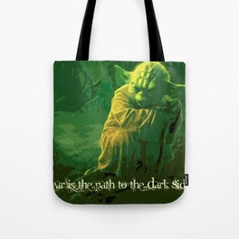 Yoda | Star War Art Tote Bag