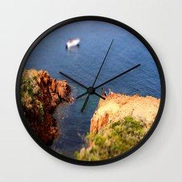 Théoule-sur-Mer Dive Wall Clock