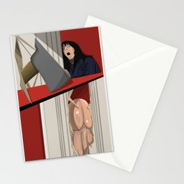 The Shining (with a penis) Stationery Cards