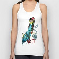 knit Tank Tops featuring Knit Wit by Agy Wilson