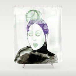 Pureen - Vintage 50s Hairdo Shower Curtain