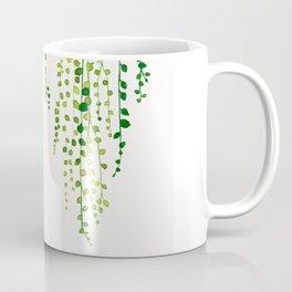 String of pearls #2 in green - ink painting Coffee Mug