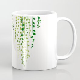 String of pearls #2 in green - ink painting Coffee Mug
