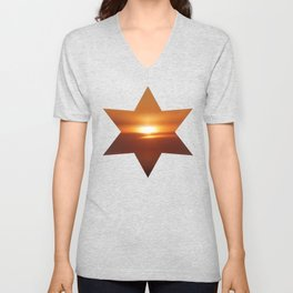 The Golden Hour Unisex V-Neck