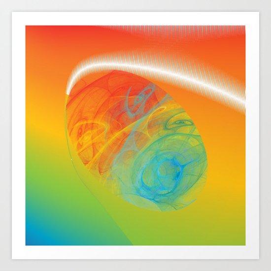 Fleuron Composition No. 172 Art Print