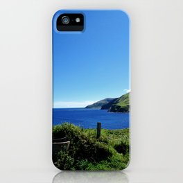 Antrim coast. Northern Ireland iPhone Case