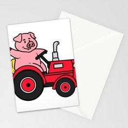 Tractor Farmer Gift Shirt Farmer Trecker Cool Stationery Cards
