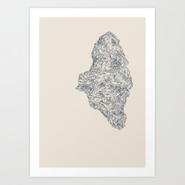'Inheritance' (1 of 6). Original ink drawings re-coloured in Photoshop. (Other colourways available) Art Print