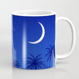 Blue Island Starry Sky Coffee Mug