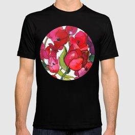 Scarlet Tulips T-shirt