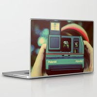 polaroid Laptop & iPad Skins featuring polaroid by Angela Mia Photography