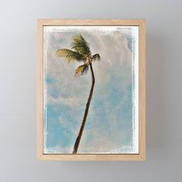 summer vibes Framed Mini Art Print