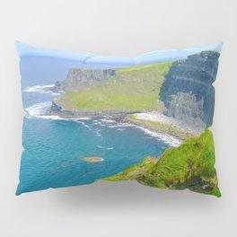 Cliffs Of Moher Ireland Landscape Pillow Sham