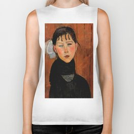 "Amedeo Modigliani ""Marie (Marie, fille du peuple)"" Biker Tank"