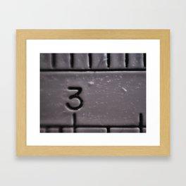 The # Framed Art Print