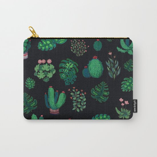tropical green !! Carry-All Pouch