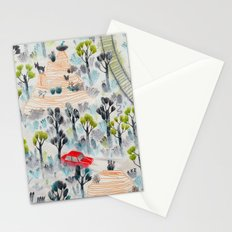 Abandoned railway Stationery Cards
