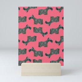 Scottie, Scottish Terrier,  Aberdeen Terrier, Mini Art Print