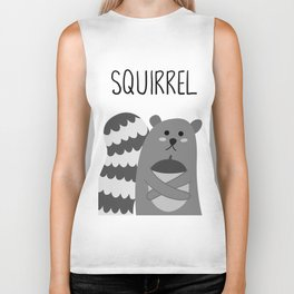 squirrel Biker Tank