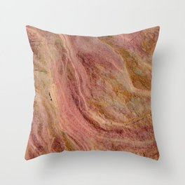 Natural Sandstone Art, Valley of Fire - 2 Throw Pillow