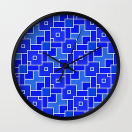 pattern squad Wall Clock