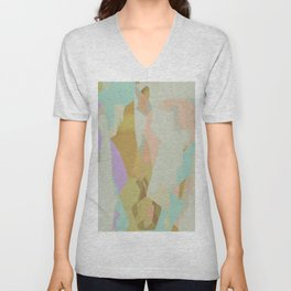 Abstract Painting No. 21 Unisex V-Neck
