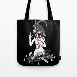 No God But Thyself Tote Bag