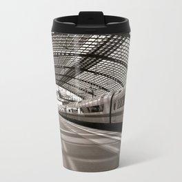 Train-Station of Berlin Travel Mug