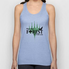May the Forest be with you Unisex Tank Top