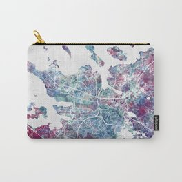 Reykjavik map Carry-All Pouch