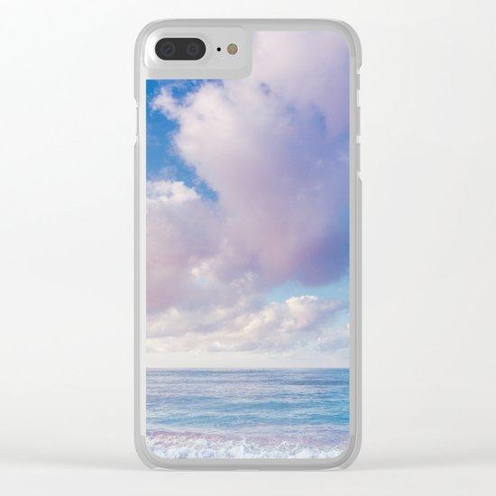 beach ver.pink Clear iPhone Case