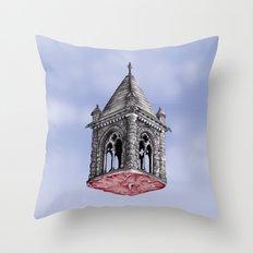 Fleshy Architecture  Throw Pillow