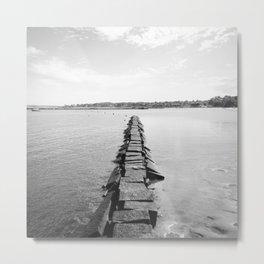 Rye Beach Metal Print