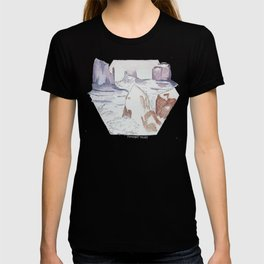 Winter in Monument Valley T-shirt