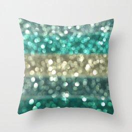 Ombre Blue... Throw Pillow
