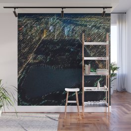 Central Park - New York City Nighttime Landscape Painting by Jeanpaul Ferro Wall Mural