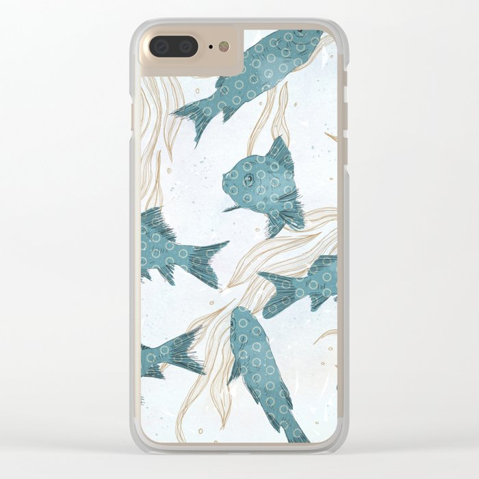 Bluefish Clear iPhone Case