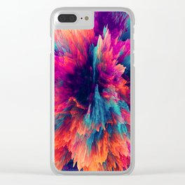 Duplicitous Interests Clear iPhone Case