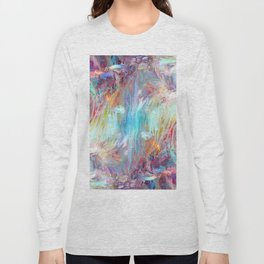 Abstract Marble 08 Long Sleeve T-shirt