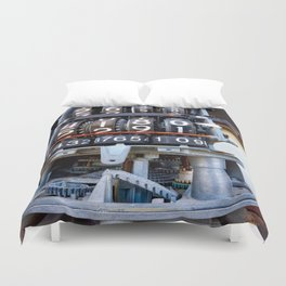 Numbers Duvet Cover