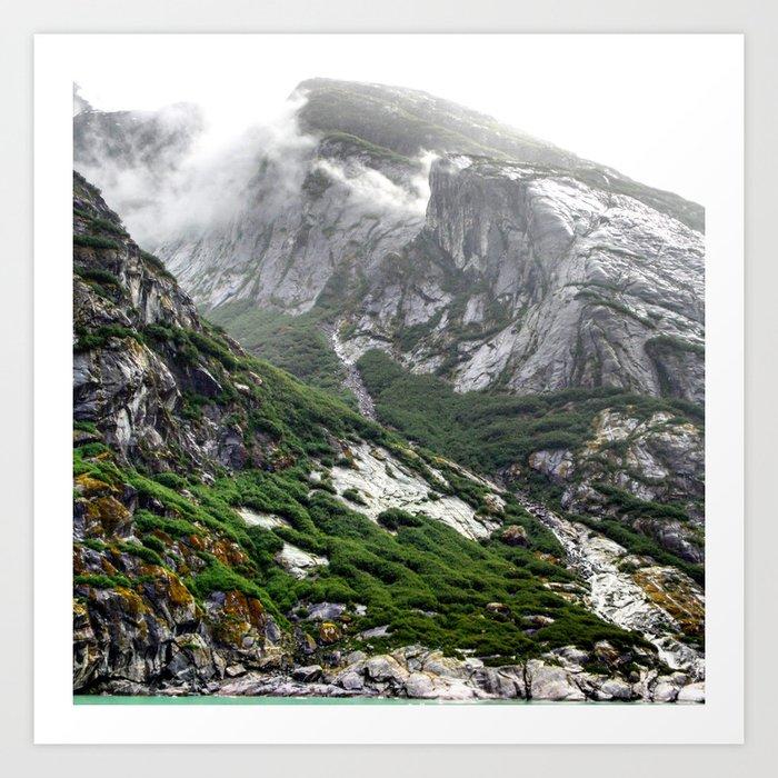 Endicott Mountainside Art Print