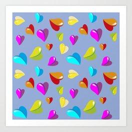 little heart,Herzchen Art Print