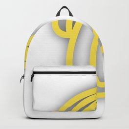 Letter O in Yellow Backpack