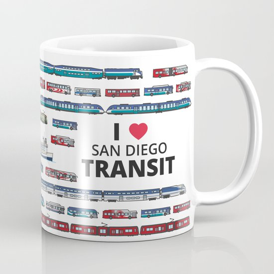 The Transit of Greater San Diego Mug